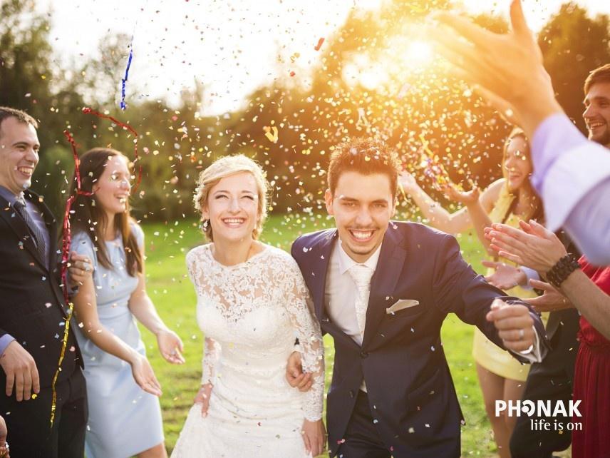 Esküvői élmények hallókészülékkel - halld meg a boldogító igent!