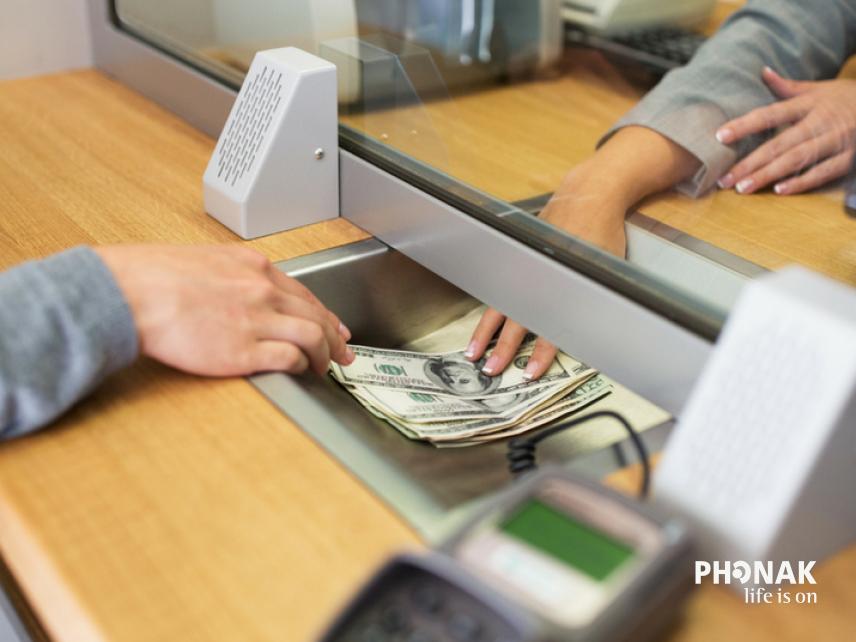 Hogyan válassz bankot siketként?